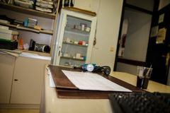 Bureau médical Photographie stock libre de droits