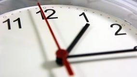Bureau, maison, ou horloge murale d'école banque de vidéos