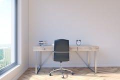 Bureau met werkruimte Stock Afbeelding