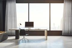 Bureau moderne avec l'espace de copie Photos libres de droits