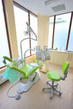 Bureau moderne d'art dentaire image libre de droits
