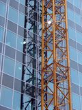Bureau neuf de construction Images libres de droits