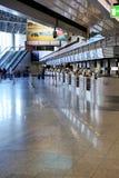 Bureau pour les billets de achat dans l'aéroport Image libre de droits