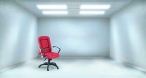 bureau spacieux illustration de vecteur