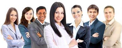 Bureau une équipe interraciale Images stock