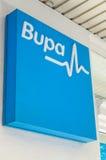 Bureau van de Bupa het privé ziektekostenverzekering in Melbourne stock afbeelding