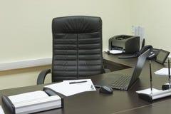 Bureau van hoogste manager Stock Foto's