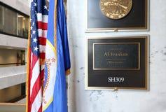 Bureau van Verenigde Staten Senator Al Franken royalty-vrije stock afbeeldingen