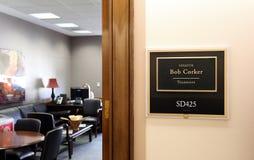 Bureau van Verenigde Staten Senator Bob Corker royalty-vrije stock foto's