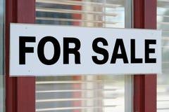 Bureau à vendre Photo stock