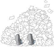Bureaucracy stock illustration