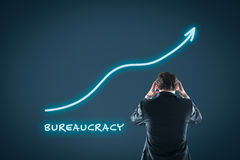 Bureaucracy growth stock photos