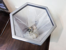 Bureaudocument afval Stock Afbeelding