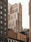 Bureaugebouwen in een grote stad stock foto