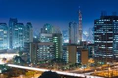 Bureaugebouwen in Sao Paulo, Brazilië royalty-vrije stock fotografie