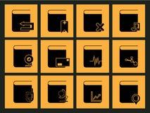 Bureaupictogram Stock Foto