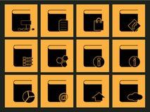 Bureaupictogram Stock Fotografie