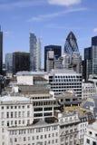 Bureaus in Londen het UK stock afbeeldingen