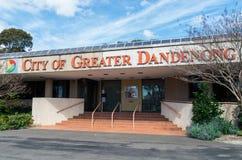 Bureaus van de Stad van Grotere Dandenong royalty-vrije stock foto