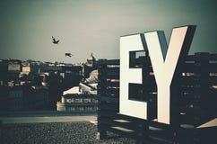 Bureaus van EY in Praag Royalty-vrije Stock Foto