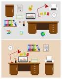 Bureaux Images stock