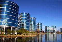 Bureaux de corporation d'Oracle Photos stock