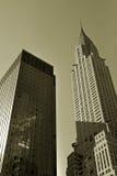 Bureaux de Manhattan Photographie stock libre de droits