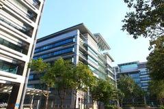 Bureaux de pointe en Hong Kong Image stock