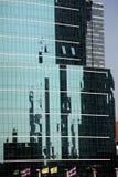 Bureaux en verre de Bangkok Image stock