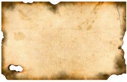 bured старая бумага Стоковое фото RF