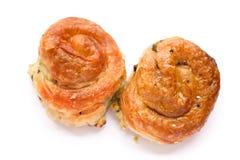 Burek bosniaco dell'alimento di specialità Fotografie Stock
