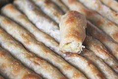 Burek com batatas imagem de stock