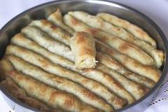 Burek com batatas fotos de stock