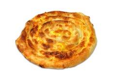 Burek sa sirom - savijaca. Serbian stile pastries -  Domaci burek sa sirom, savijaca Stock Photography