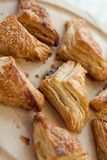 Burek triangles Royalty Free Stock Photos