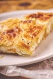 Burek, um prato tradicional de Balcãs fotos de stock