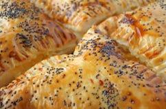 Burekas - mitt - östlig kokkonst Arkivfoto