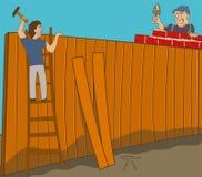 buren royalty-vrije illustratie