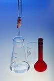 buret玻璃器皿 库存照片