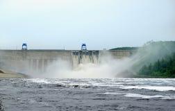 Bureya hydroelectric power station Stock Image