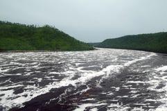 Bureya river Primorsky Krai russia Royalty Free Stock Photo