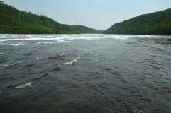 Bureya River upper reaches Stock Photos