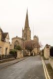 Burford教会圣约翰浸礼会教友 免版税库存图片