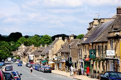 Burford High Street. Royalty Free Stock Image
