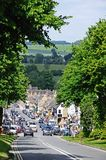 Burford High Street. Royalty Free Stock Photos
