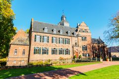 Burg Bergerhausen σε Kerpen, Γερμανία στοκ φωτογραφίες με δικαίωμα ελεύθερης χρήσης