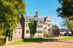 Burg Bergerhausen σε Kerpen, Γερμανία στοκ εικόνες