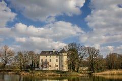 Burg Boetzelaer près de Kalkar photo libre de droits