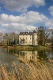 Burg Boetzelaer près de Kalkar photo stock