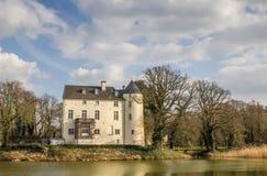 Burg Boetzelaer près de Kalkar image libre de droits